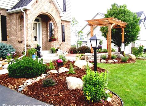 cheap landscaping ideas for front of house awesome cheap