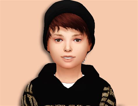 sims 4 children hair my sims 4 blog stealthic psycho hair converted for boys