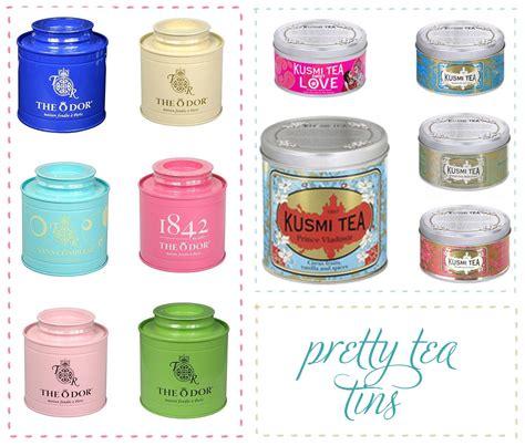 Tea Tin pretty tea tins
