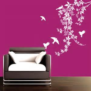 Buy Birds on vines wall decal Online