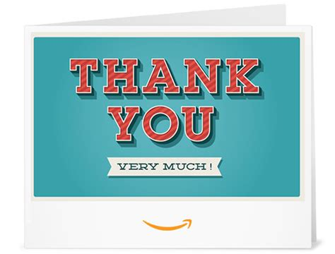 How Much Is An Amazon Gift Card - thank you very much printable amazon co uk gift voucher amazon co uk gift cards