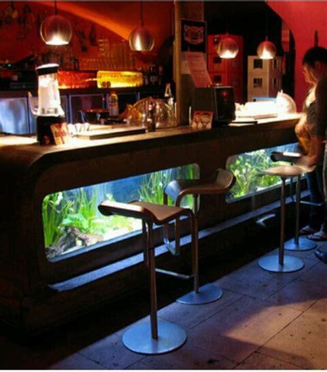 fish tank bar top modern bar fish tank fish pinterest drunk people