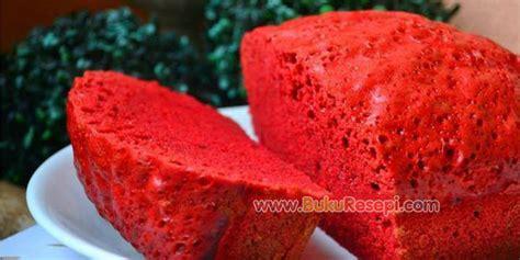 cara membuat bolu kukus red velvet resepi kek red velvet kukus www bukuresepi com