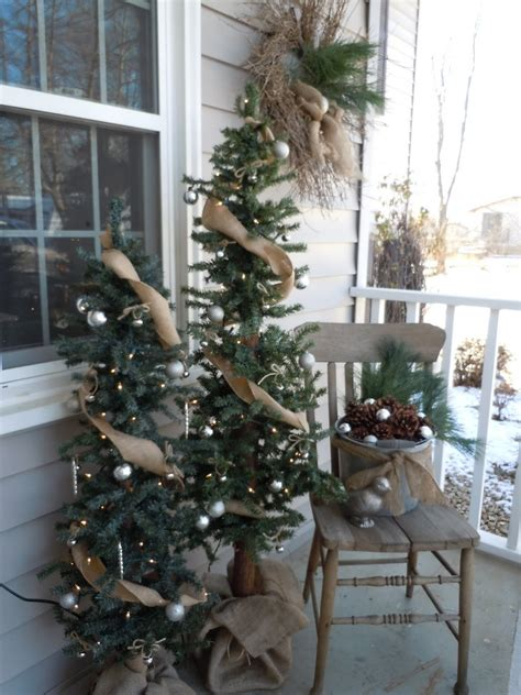 front porch christmas trees everything in between by kelly tiffany christmas front