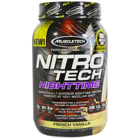 muscletech nitro tech precio muscletech nitro tech nighttime protein vanilla