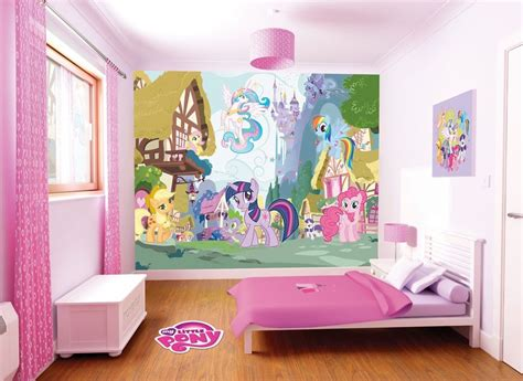 my little pony bedroom decor my little pony room makeover my little pony walltastic