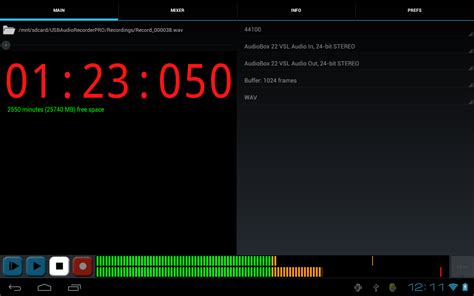 android sound recorder kvr extream software development brings usb audio to android with quot usb audio recorder pro quot