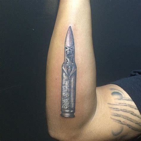 bullet tattoos designs ideas and meaning tattoos for you