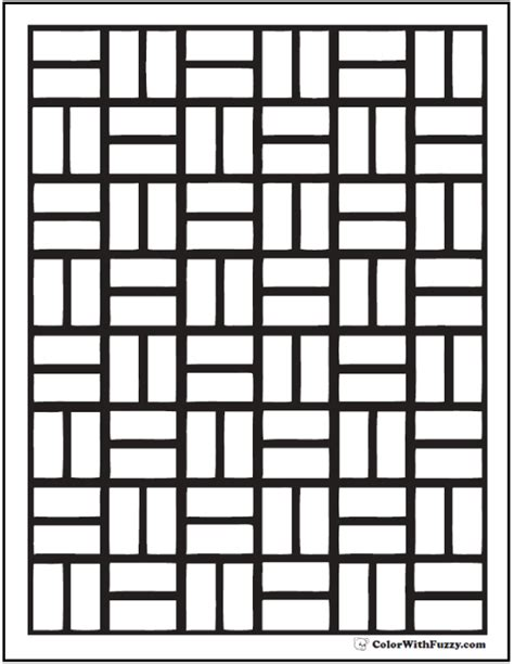 brick wall coloring pages