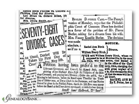Dauphin County Divorce Records Genealogy Research With Records In Newspapers