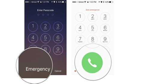 how to make an emergency call on a locked iphone imore