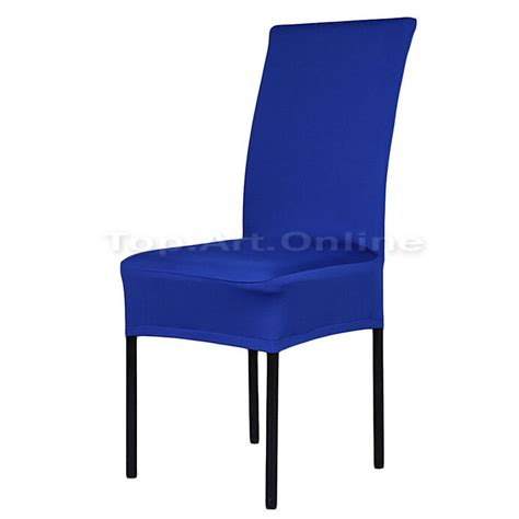 Stretch Seat Covers Dining Chairs Stretch Dining Room Seat Chair Covers Slipcover Removable Solid Color Ebay