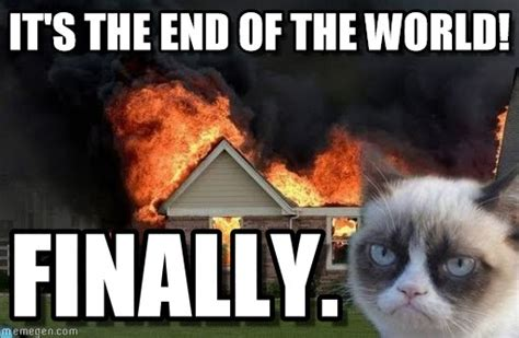 End Of The World Meme - compulsory diversity news more likely to die in