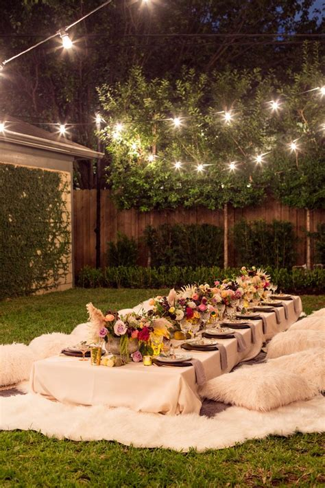 backyard dinner party ideas 25 best ideas about backyard party decorations on