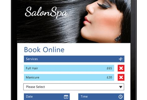 book hairdressers online glasgow beauty salon software for management and appointments by
