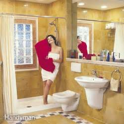 how to remodel a small bathroom the family handyman renovation ideas small pictures to pin on pinterest