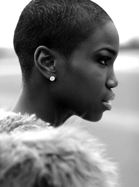 female low cut natural hair faded short haircuts for black women get a low fade