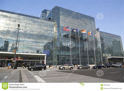 convention new york city javits convention center in manhattan editorial stock image image 46320439