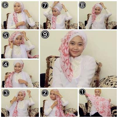 tutorial turban untuk lebaran tutorial hijab untuk silaturahmi idul fitri 4