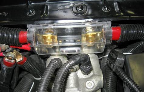 ford alternator fuse wiring diagram with description
