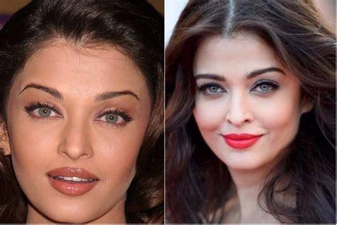 aishwarya rai eyebrows eyebrow makeover of these 9 bollywood celebs will show you
