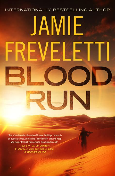 blood run caldridge series books freveletti s