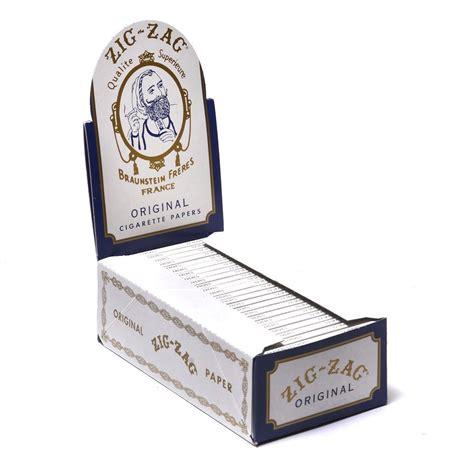 White Original zig zag rolling papers white original marijuana packaging