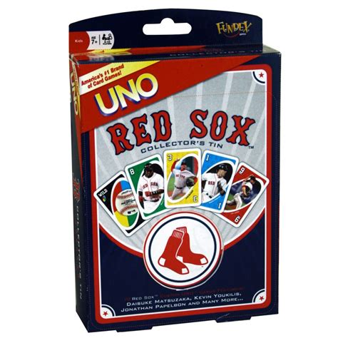 Boston Red Sox Gift Card - fundex games boston red sox uno card game