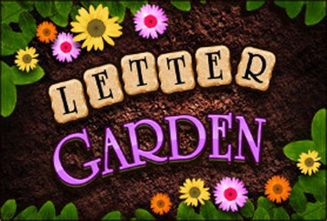 The Letter Garden by Of The Day Letter Garden