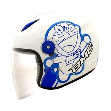 Helm Gm Motif Doraemon Jual Bmc Milan Doraemon Helm Half White Blue