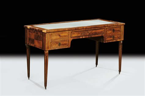 scrivania luigi xvi scrittoio luigi xvi lastronato francia xix secolo