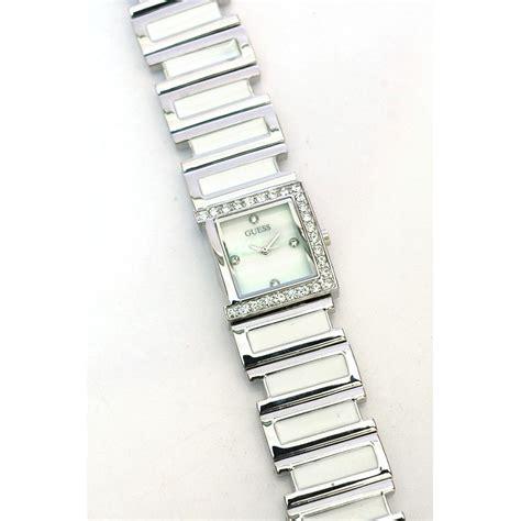 Gc Silver White jualan guess gc 11597 silver white