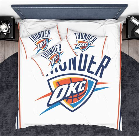 oklahoma city thunder light switch covers basketball nba nba oklahoma city thunder bedding comforter set ebeddingsets