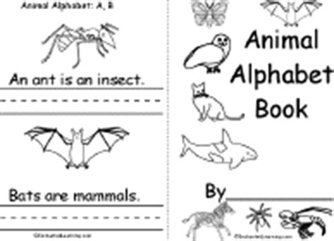 printable animal abc book picture dictionaries to print and make enchantedlearning com