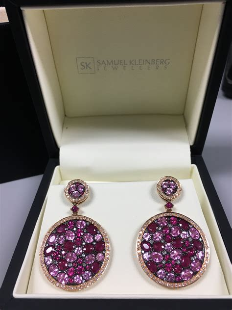 Rubby Dress Pink Balotelly Sk pink sapphire and ruby earrings samuel kleinberg
