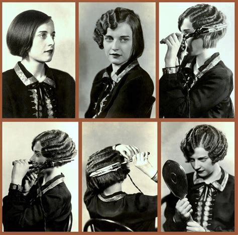 how to do 20s hair retro rack finger waves
