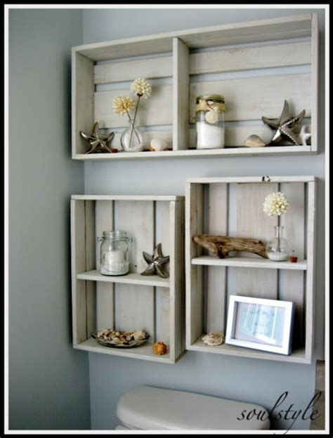 diy bathroom shelving ideas 17 diy space saving bathroom shelves and storage ideas shelterness