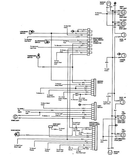78 chevy c10 truck wiring diagram 78 get free image
