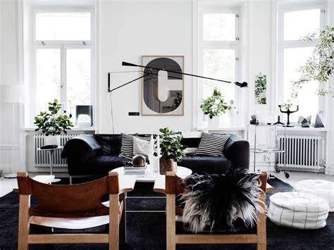 black and white home design inspiration scandinavian living room design ideas inspiration