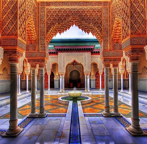 moorish style palace interior architecture morocco tours morocco tour packages marrakech