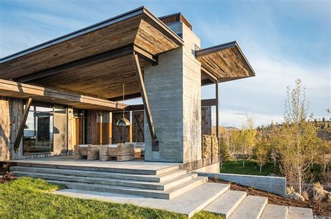 contemporary cabin enchanting getaway gives the woodsy cabin style a modern twist