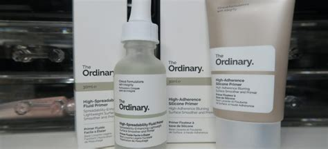 The Ordinary High Adherence Silicone Primer The Ordinary Primer hydration lydia pro makeup artist