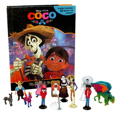 My Busy Book Marvel Avenger disney s coco my busy book w 12 figures and playmat brand ebay