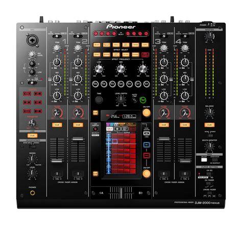 Mixer Audio Pioneer djm 2000nxs professional dj mixer pioneer electronics usa
