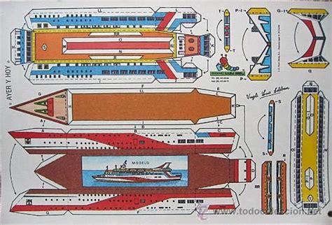 descargar un barco muy pirata pdf todorecortables sue 209 os de papel barcos recortables