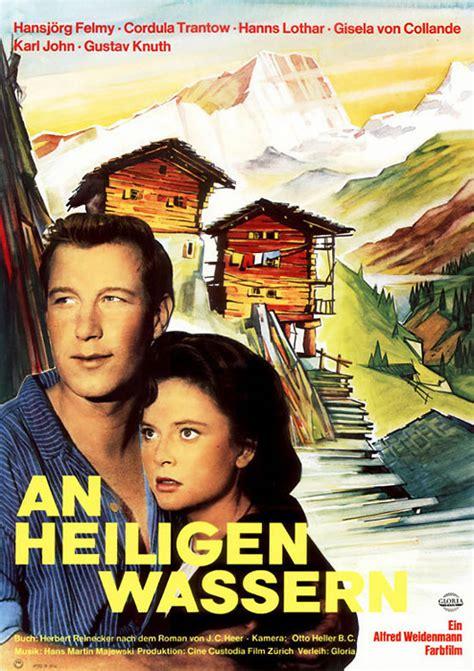 Filmplakat an heiligen wassern 1960 filmposter archiv
