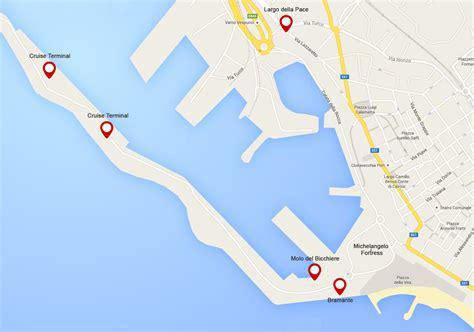 come arrivare al porto di civitavecchia nuove fermate per i crocieristi al porto di civitavecchia