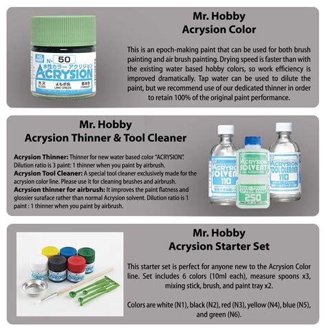 Mr Acrysion 4 mr hobby