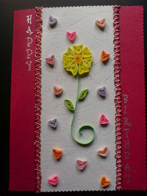 Craft Handmade Cards - handmade birthday card ideas chami crafts handmade