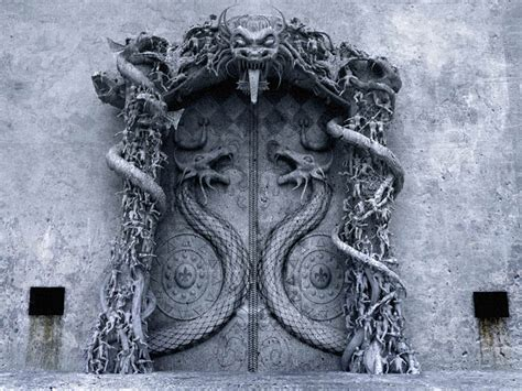 // Making Of 'The Gates of Hell' by Mario Russo (page 1 of 4) / 3ds Max, Photoshop, Project